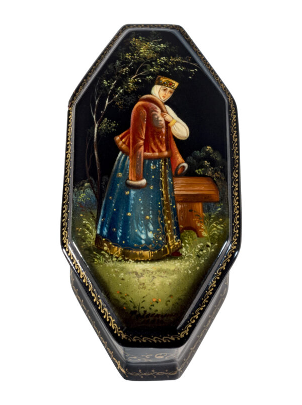 lacquer box from Fedoskino