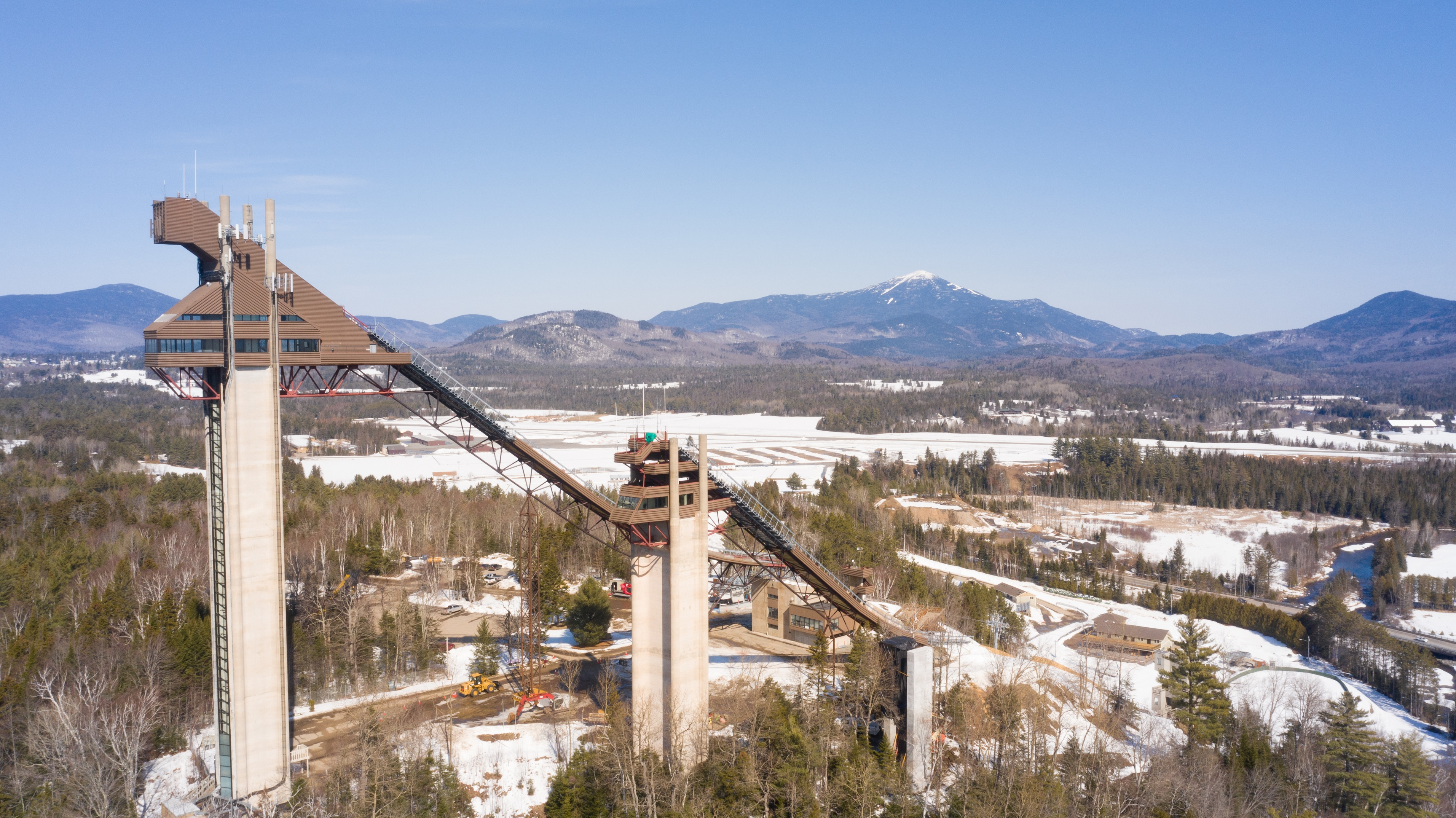 ORDA Olympic Jumping Complex 90M and 120M Ski Jumps