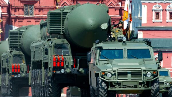 Russian RS-24 Yars ballistic missiles