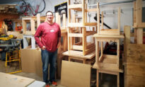 Teacher Builds Nearly 800 Desks for Kids Without Home Workspaces for Online Learning