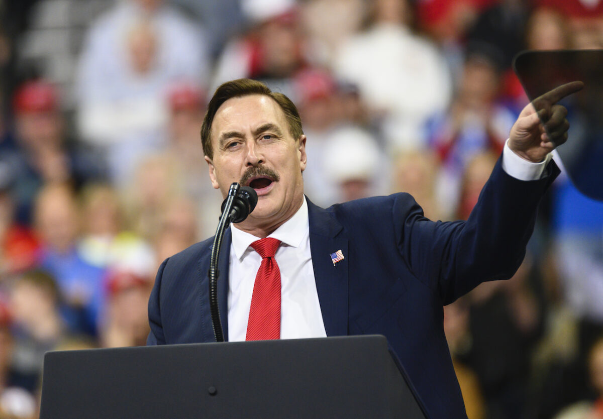 Twitter Suspends Account of Mike Lindell, CEO of MyPillow