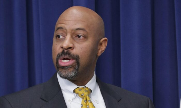 Then-White House Deputy Assistant to the President for the Office of Urban Affairs, Justice and Opportunity Roy Austin in Washington, on Feb. 11, 2015. (Chip Somodevilla/Getty Images)