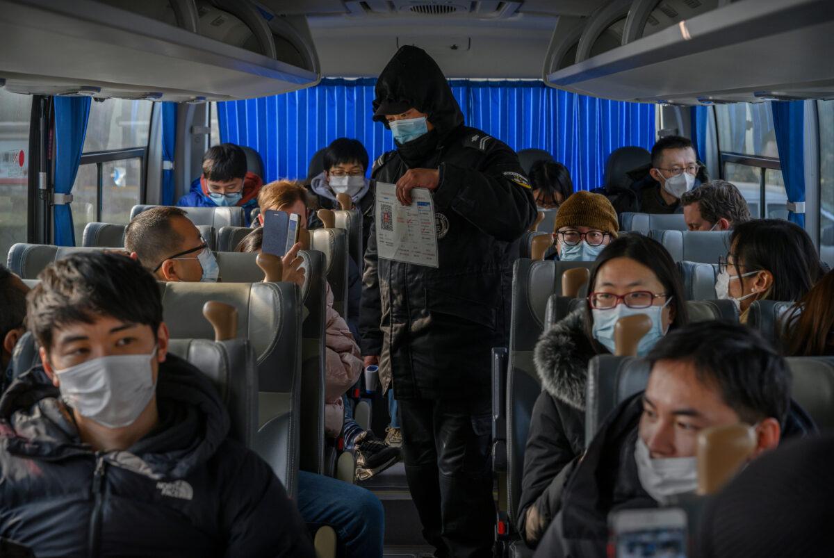 beijing virus bus