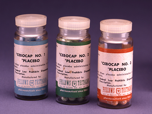Placebos have long been an