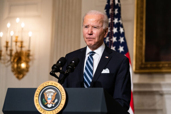 Biden speaks about climate change issues