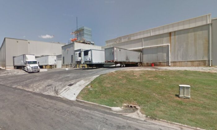 Officials in Georgia said at least six people died and about a dozen people were hospitalized following a chemical leak at a food processing plant on Thursday. (Google Street View)