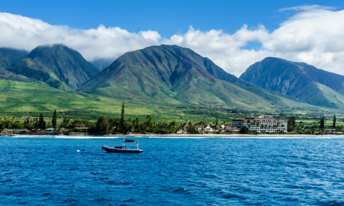 The coastline near Lahaina, Hawaii. (Francois Seuret/Shutterstock)