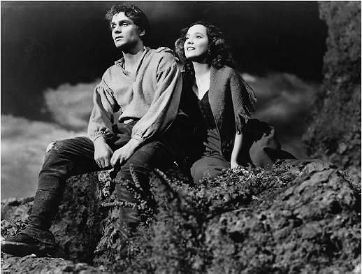 Sir Laurence Olivier and Merle Oberon in the 1939 film Wuthering Heights. (Public Domain)