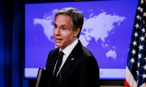 Blinken Presses China on Human Rights Abuses in 1st Call With Chinese Diplomat
