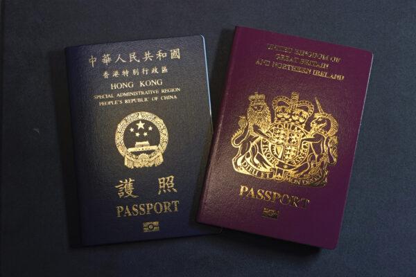A British National Overseas passports