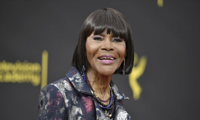 Cicely Tyson arrives at night two of the Creative Arts Emmy Awards in Los Angeles  on Sept. 15, 2019 (Richard Shotwell/Invision/AP)
