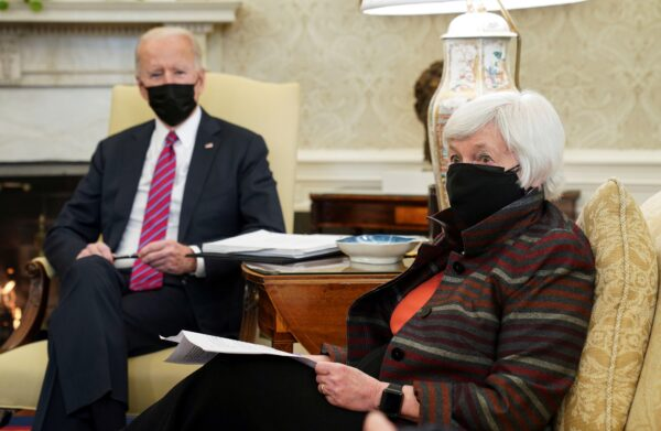 Joe Biden Janet Yellen