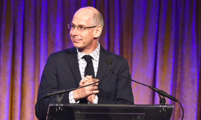President at ABC News, James Goldston speaks onstage during the International Women's Media Foundation's 2015 Courage in Journalism Awards in New York City on Oct. 21, 2015. (Bryan Bedder/Getty Images for IWMF)