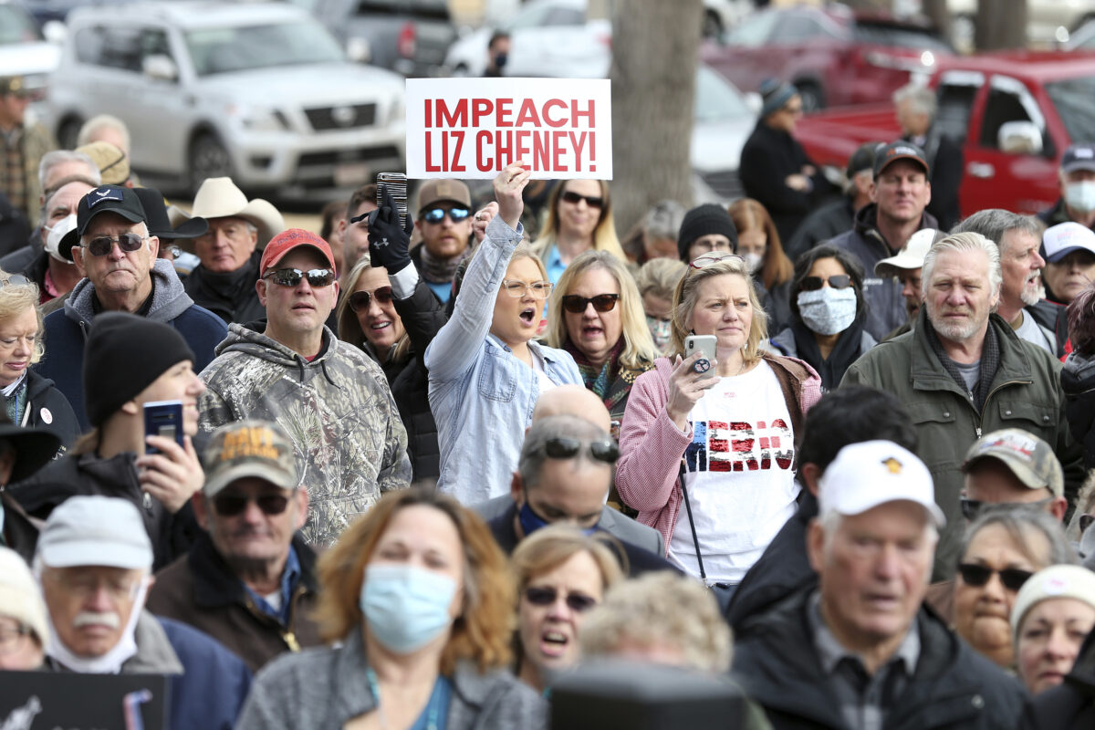 Gaetz Targets Cheney Over Impeachment Vote at Rally in Her Home State