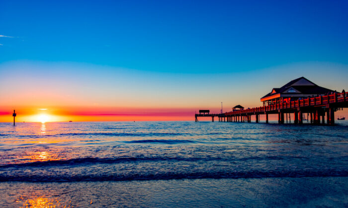 The pier on Clearwater Beach, Fla. (Courtesy of VisitClearwaterFlorida.com)