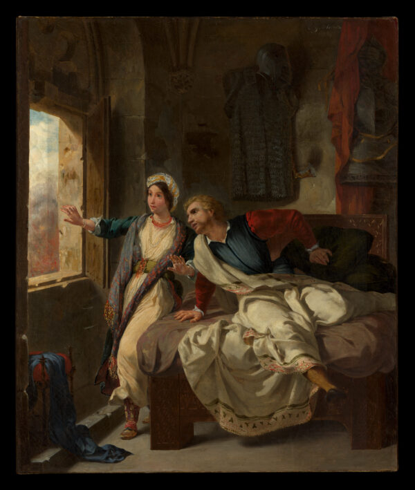 Rebecca and Wounded Ivanhoe