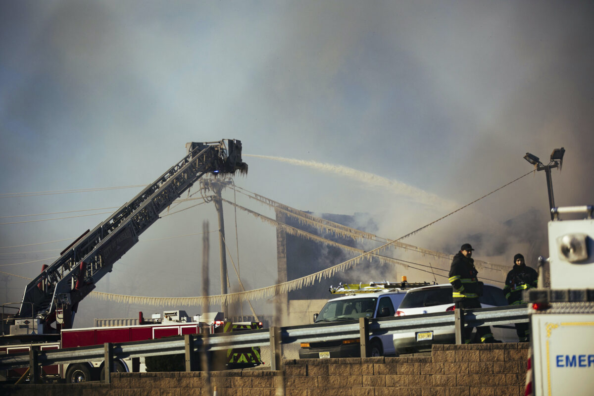 Recycling Plant Fire
