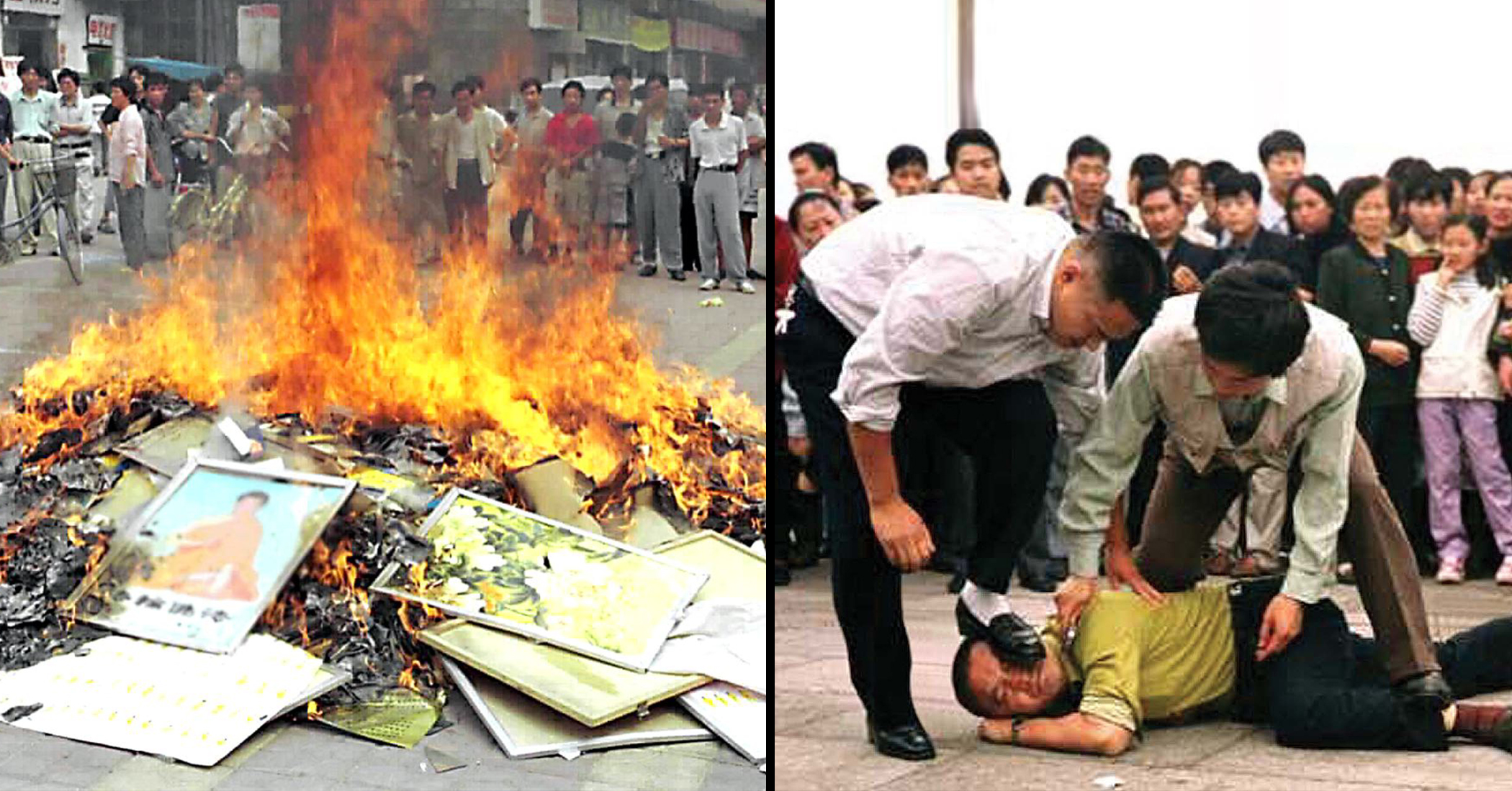 Religious books seized and burned in communist China, believers given jail terms