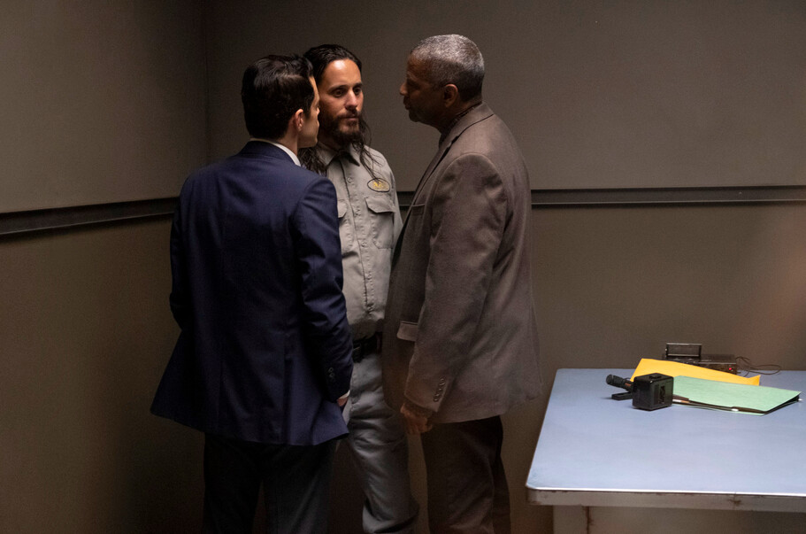 """three men in interrogation room in """"The Little Things"""""""