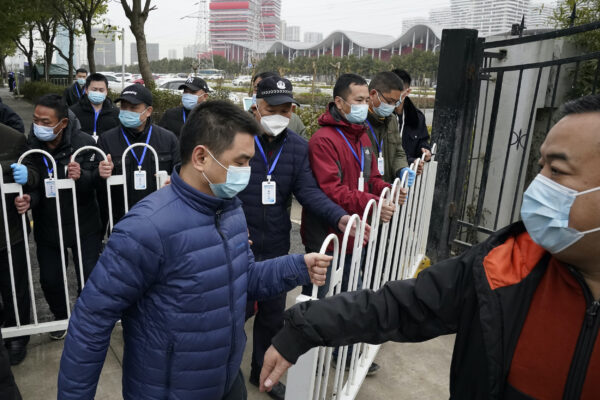 WHO Team Visits Second Wuhan Hospital in Virus Investigation