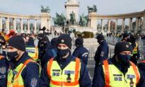 Hungarians Protest Against Lockdown Despite Gathering Ban