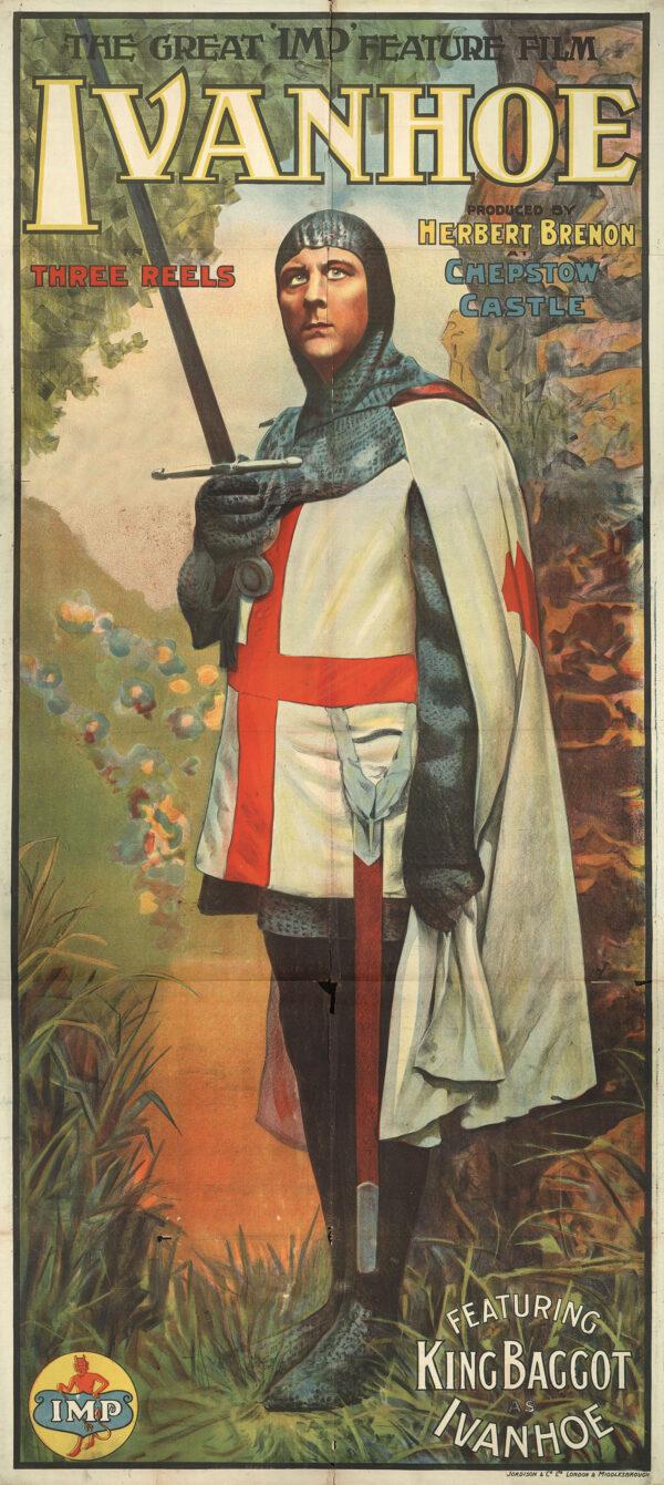 _Ivanhoe-Baggot-1913-Poster