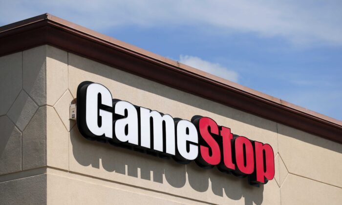 A GameStop store is seen in St. Louis on May 7, 2020. (Jeff Roberson/AP Photo)