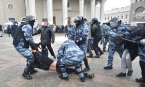 Russia Arrests More Than 5,100 at Pro-Navalny Protests