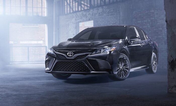2021 Toyota Camry SE Nightshade Edition. (Courtesy of Toyota)