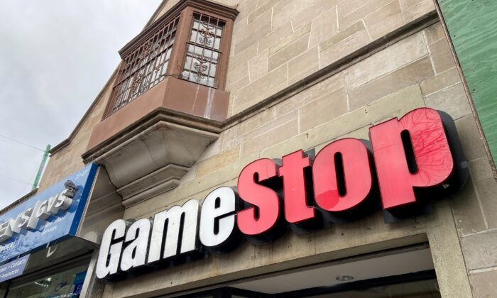 A GameStop store in the Jackson Heights neighborhood of New York City on Jan. 27, 2021. (Nick Zieminski/Reuters)