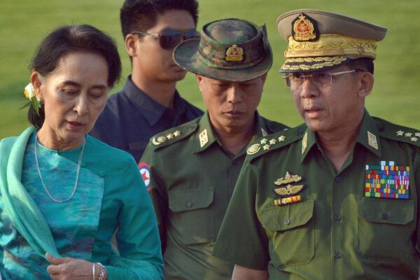 Aung San Suu Kyi, Min Aung Hlaing