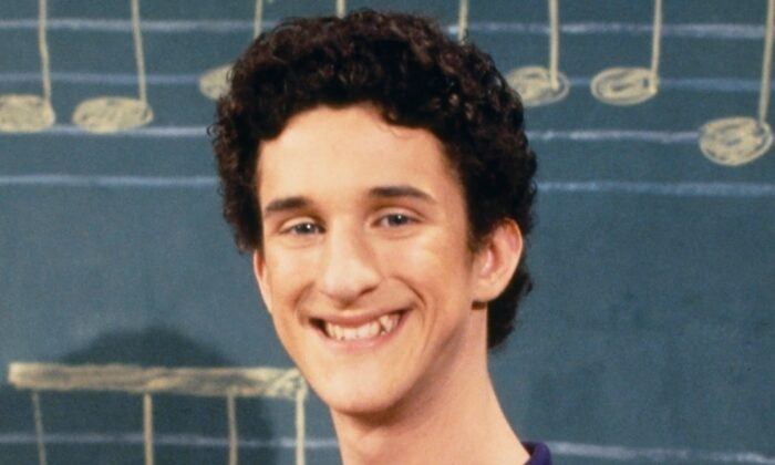 """This image released by NBC shows actor Dustin Diamond as Samuel Powers, better known as Screech"""" from the 1990's series """"Saved by the Bell."""" (Paul Drinkwater/NBCU Photo Bank via AP)"""