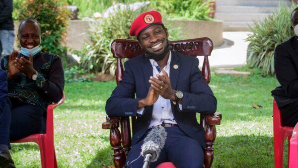 Opposition presidential challenger Bobi Wine