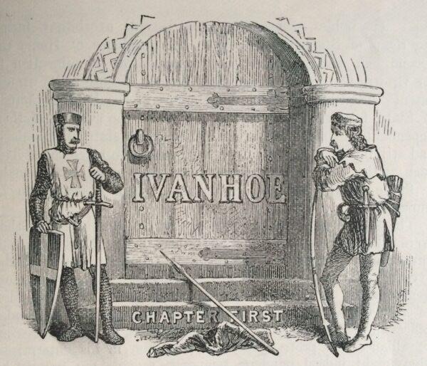 _Ivanhoe-chapter-1st-Wavely illustration