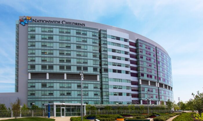 Exterior view of Nationwide Children's Hospital in Colombus, Ohio, in a file photo. (Nationwide Children's Hospital/CC BY-SA 2.0 via Flickr)