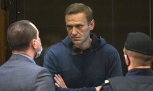 Russian Court Orders Kremlin Critic Navalny to 2.5 Years in Prison