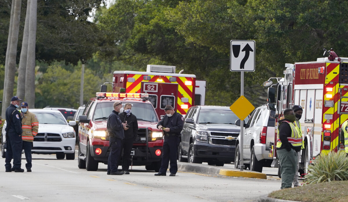 shooting wounded several FBI