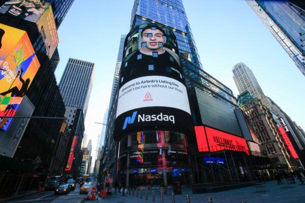 The Nasdaq digital billboard