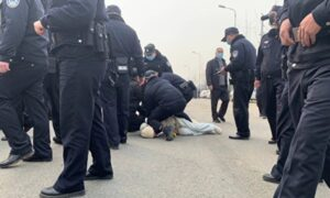 Chinese Police Beat City Residents Protesting Sewage Plant Project, Including Pregnant Woman