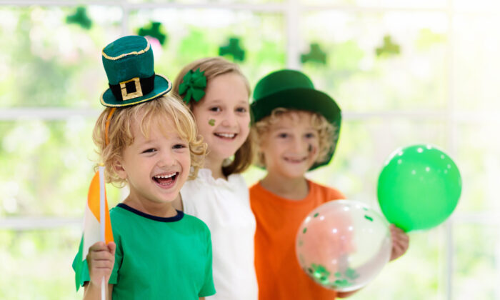 Enlist the kids in making decorations, or even leprechaun traps on the night before the holiday. (FamVeld/Shutterstock)
