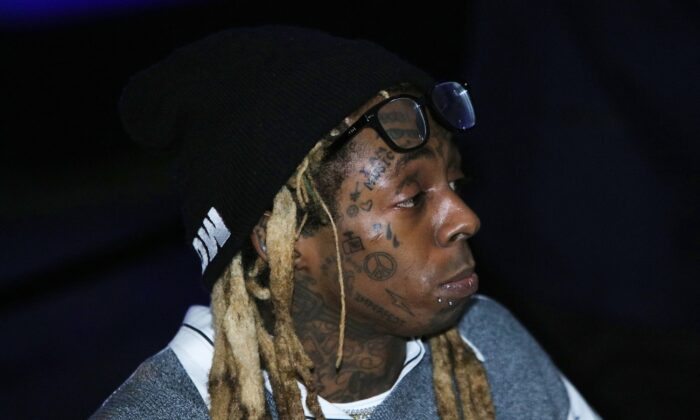 Lil Wayne attends an event in Miami, Fla., on Feb. 1, 2020. (Jeff Schear/Getty Images for Young Money/Republic Records)
