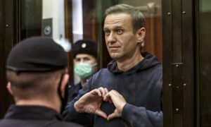 Russia Rejects Western Criticism Over Navalny's Prison Term