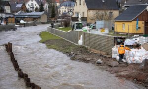 Snow Melt, Rain Causing Widespread Flooding in Germany