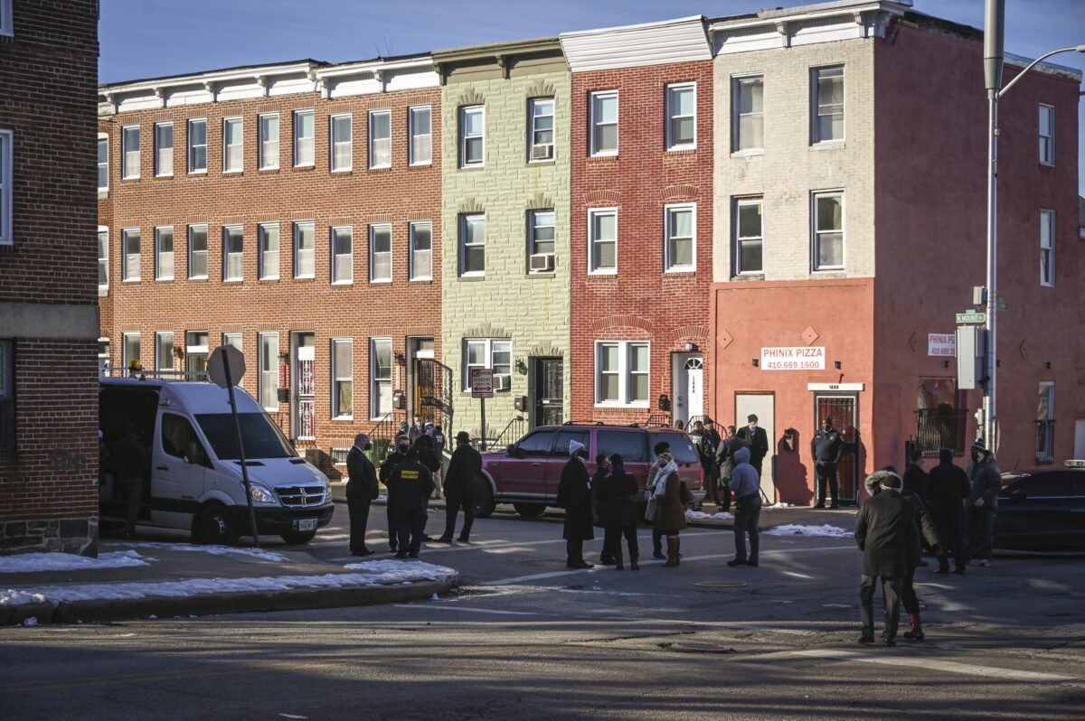 Marshals Shooting Baltimore