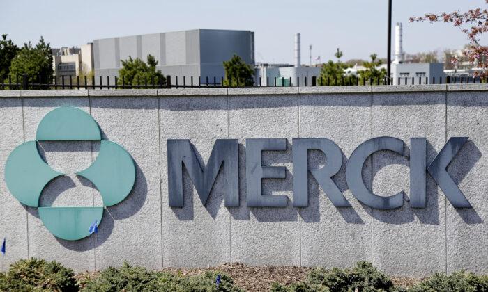 Merck corporate headquarters in Kenilworth, N.J., on May 1, 2018. (Seth Wenig/File/AP Photo)