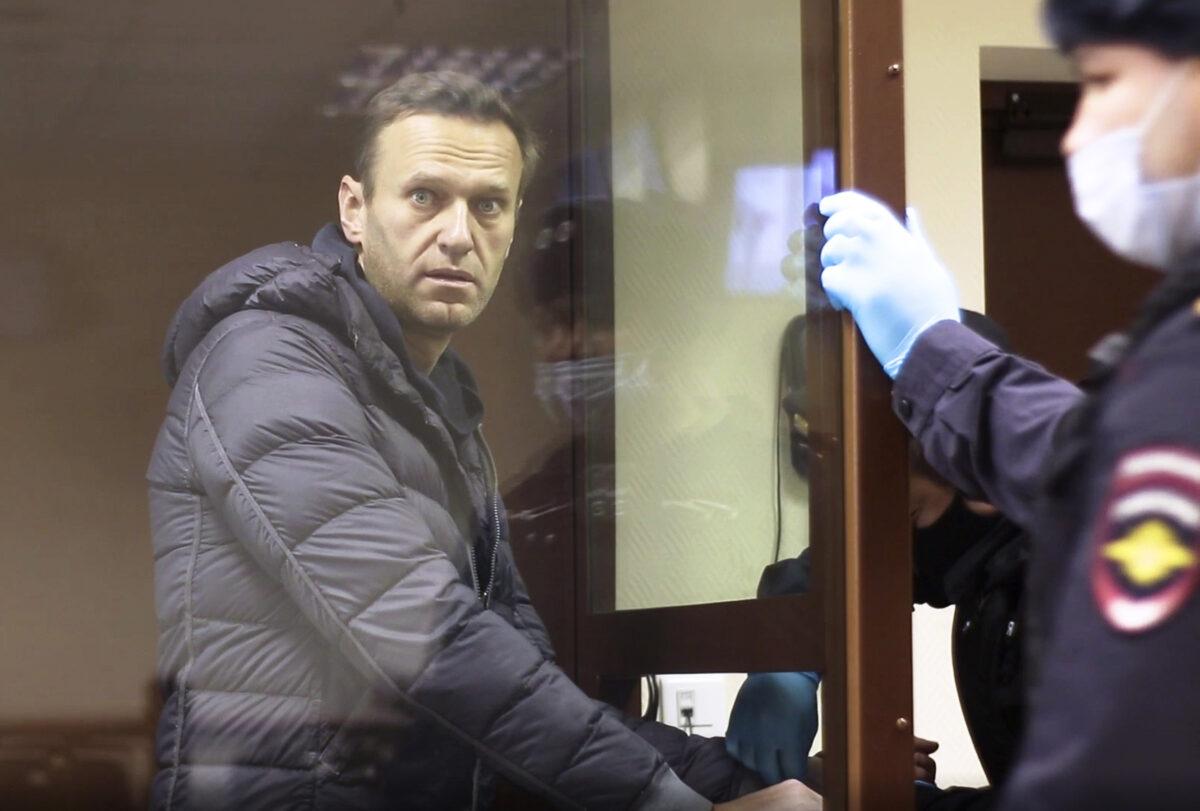 APTOPIX Russia Navalny