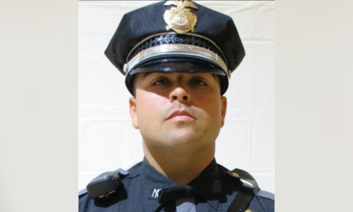 New Mexico State Police officer Darian Jarrott. (New Mexico State Police via AP)
