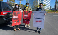 Activists in Irvine Calling for Monthly Stimulus Checks Deliver Invoice to Congresswoman