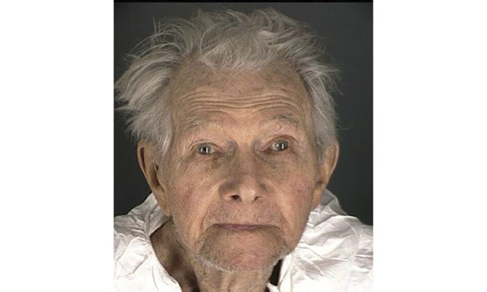 This booking provided by the Boulder County Sheriff's Office shows Okey Payne, 95, who police accused of shooting and killing a maintenance worker at his assisted living center, on Thursday, Feb. 4, 2021. (Boulder County Sheriff's Office via AP)