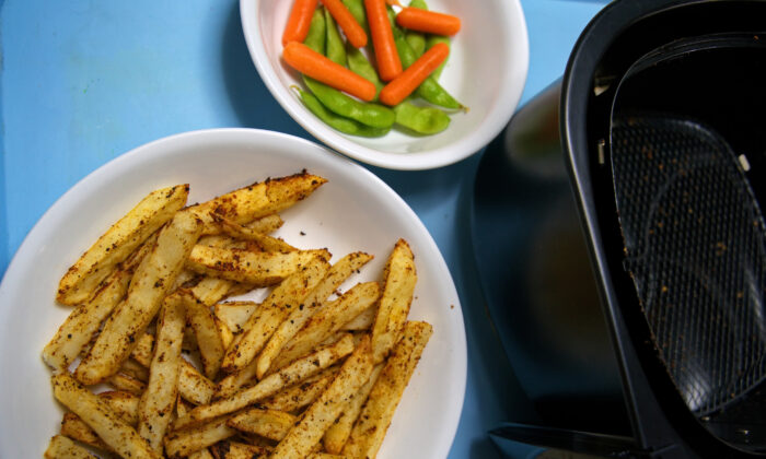 Thanks to the air fryer, it's never been easier to turn a humble spud into crispy-on-the-outside, creamy-on-the-inside fries. (Dreamstime/TNS)
